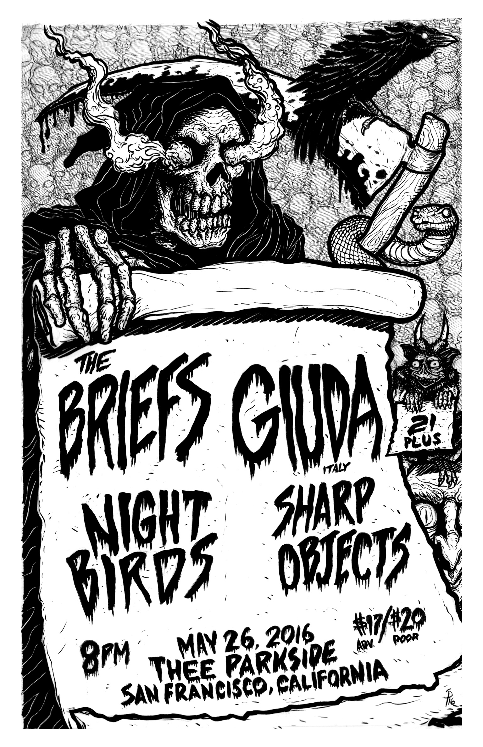briefs giuda night birds